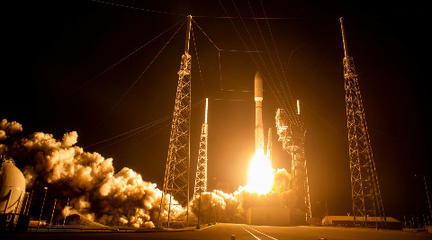 发射AEHF-4军星任务视频