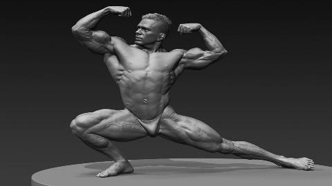 基本人体结构人体雕刻会不会?不会,看这!!