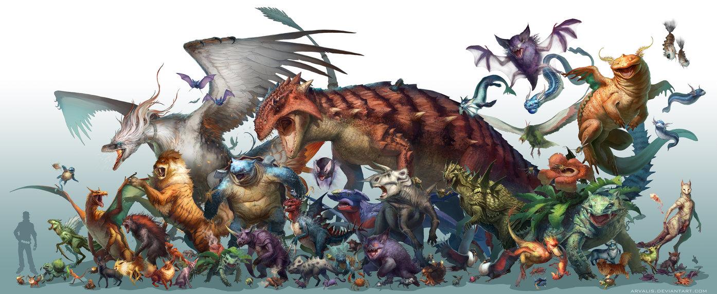 宠物小精灵—侏罗纪时代