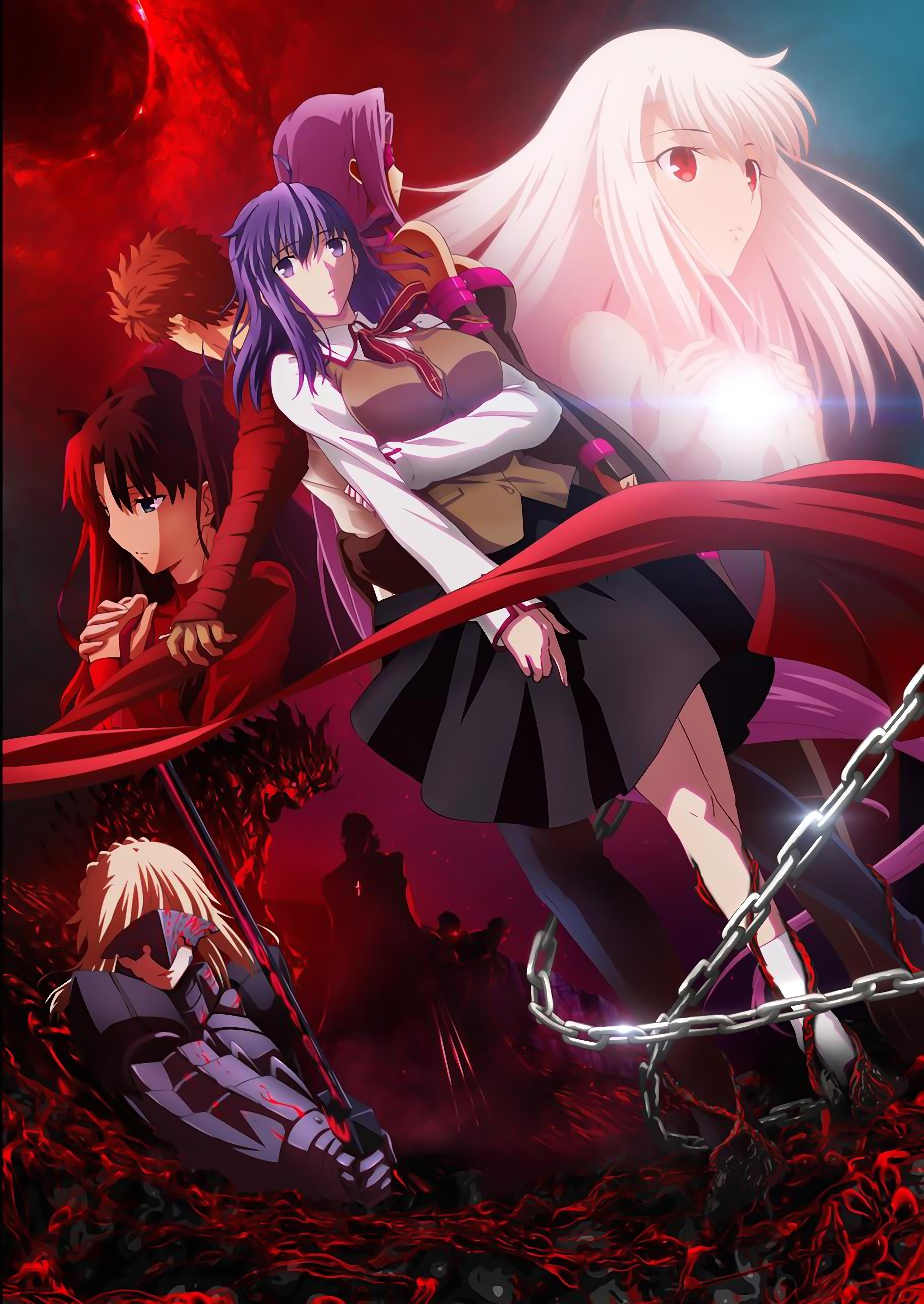 先照着半年的时间等,Fate HF 剧场版第一章先行电影票 2 月 18 日发售