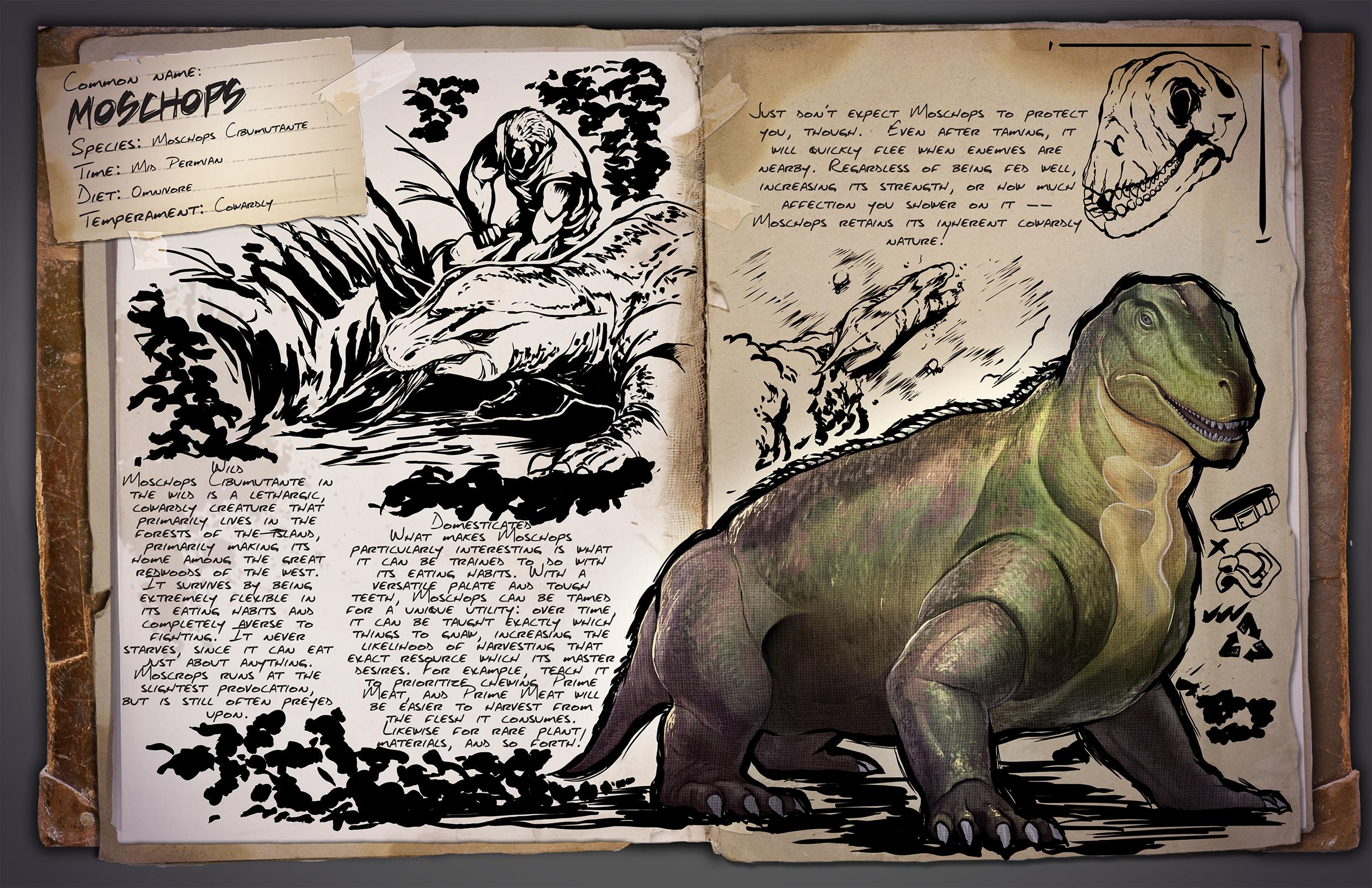 《方舟:生存进化》怂包又鸡贼的小胖子,最有生存智慧的远古吃货