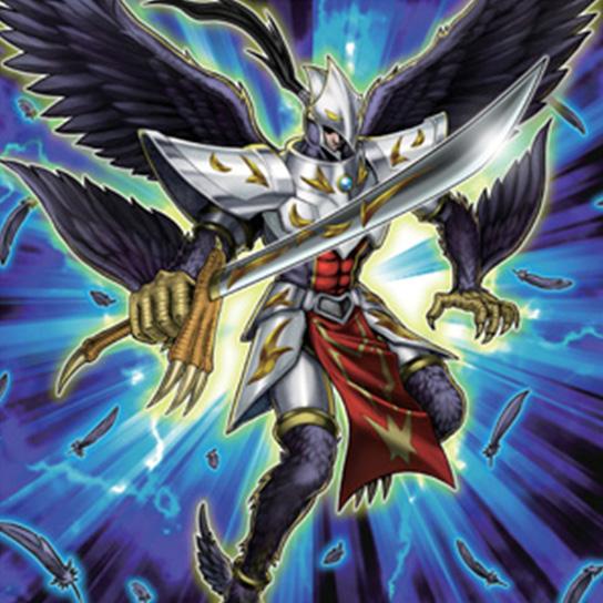 黑羽�����f�x�_展翅而飞吧!黑衣的剑士-同调召唤:黑羽-煌星之怒剑鸟