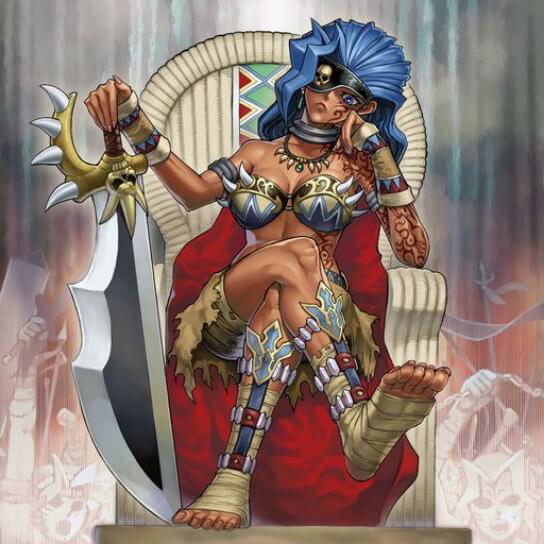 游戏王图文故事 第322期 亚马逊女战士的故事