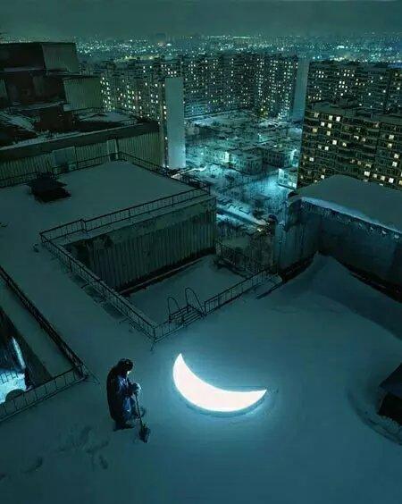 二次元美图·城市中的夜景