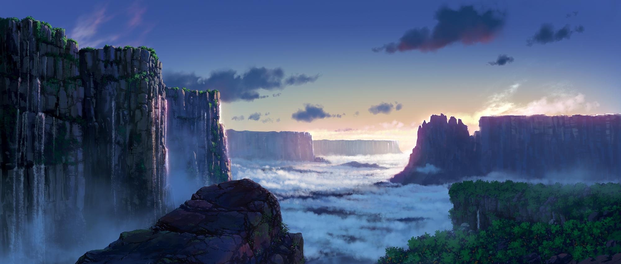 壁纸 风景 旅游 瀑布 山水 桌面 2000_850