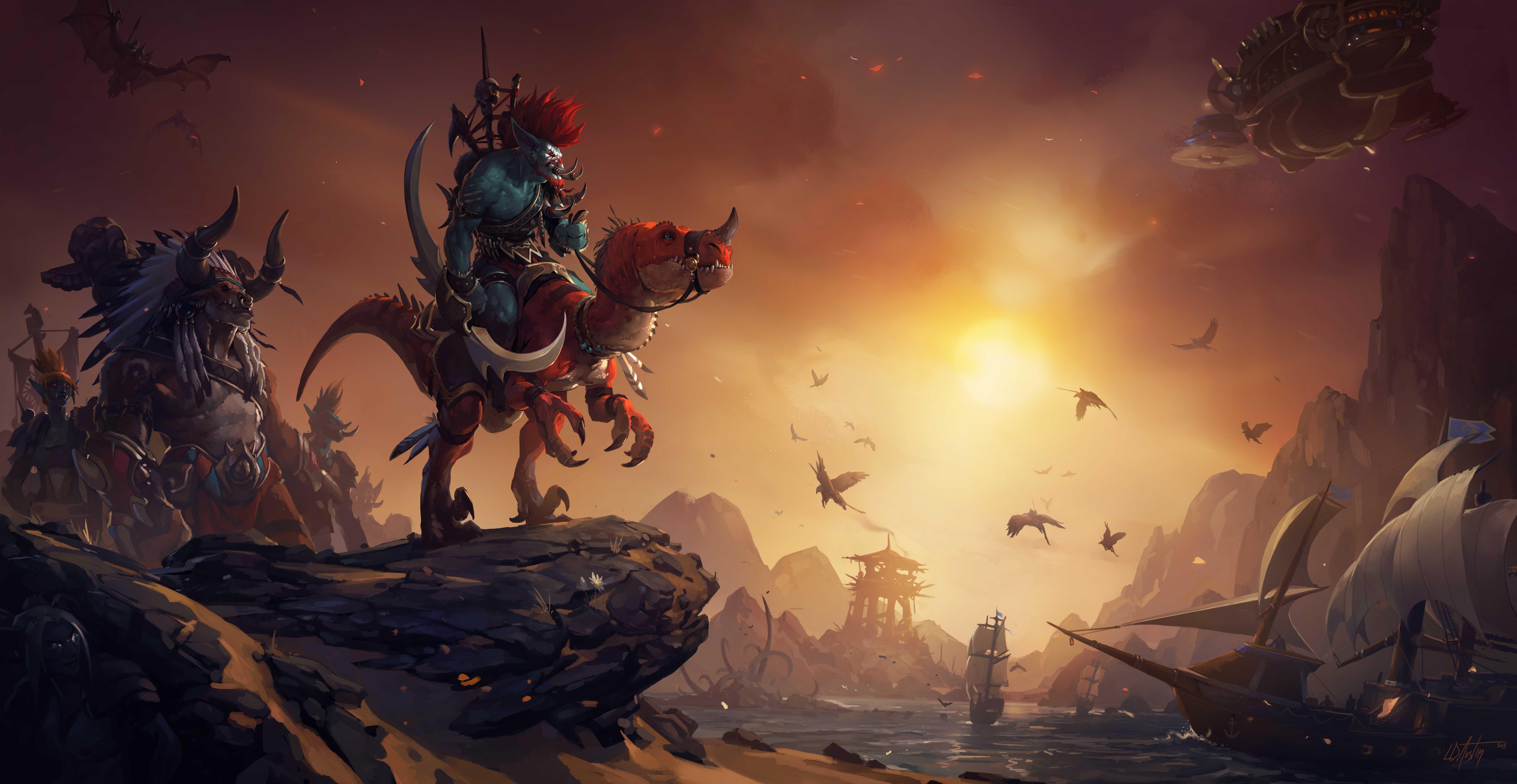 收藏向】魔兽世界壁纸(2)     正文 上期评论区acer要的风景原画壁纸