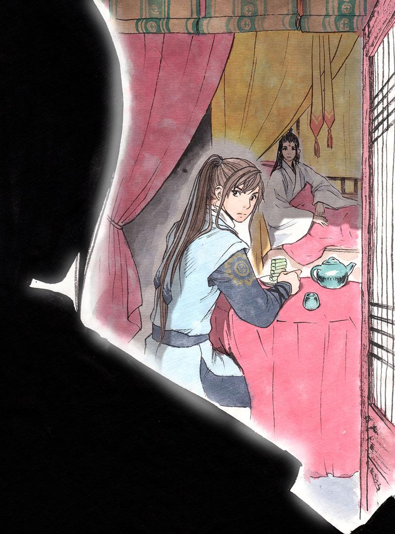 【漫画】《白鹤三绝》旧版 第三话 望月楼(四)