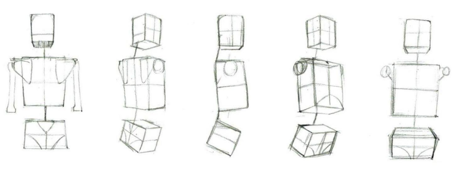普通五舌锁结构图