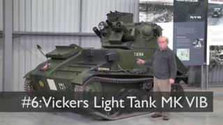 【坦克讲座/双语】维克斯MkVIB轻型坦克