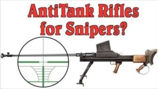 反坦克步枪不能当狙击枪用?