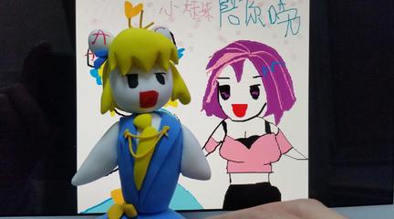 【瞎做】ac娘雕塑情人节特别版