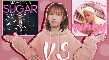 Maroon 5和Justin Bieber【美食家battle】,《A yummy sugar》