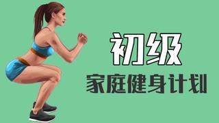 初级健身计划:适合零基础,5招实用减肥动作,足不出户在家健身