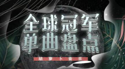 【全球冠军单曲盘点】2020年第8期