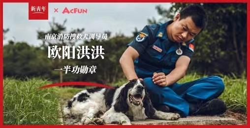 【新青年】和我一起参加汶川地震救援的搜救犬
