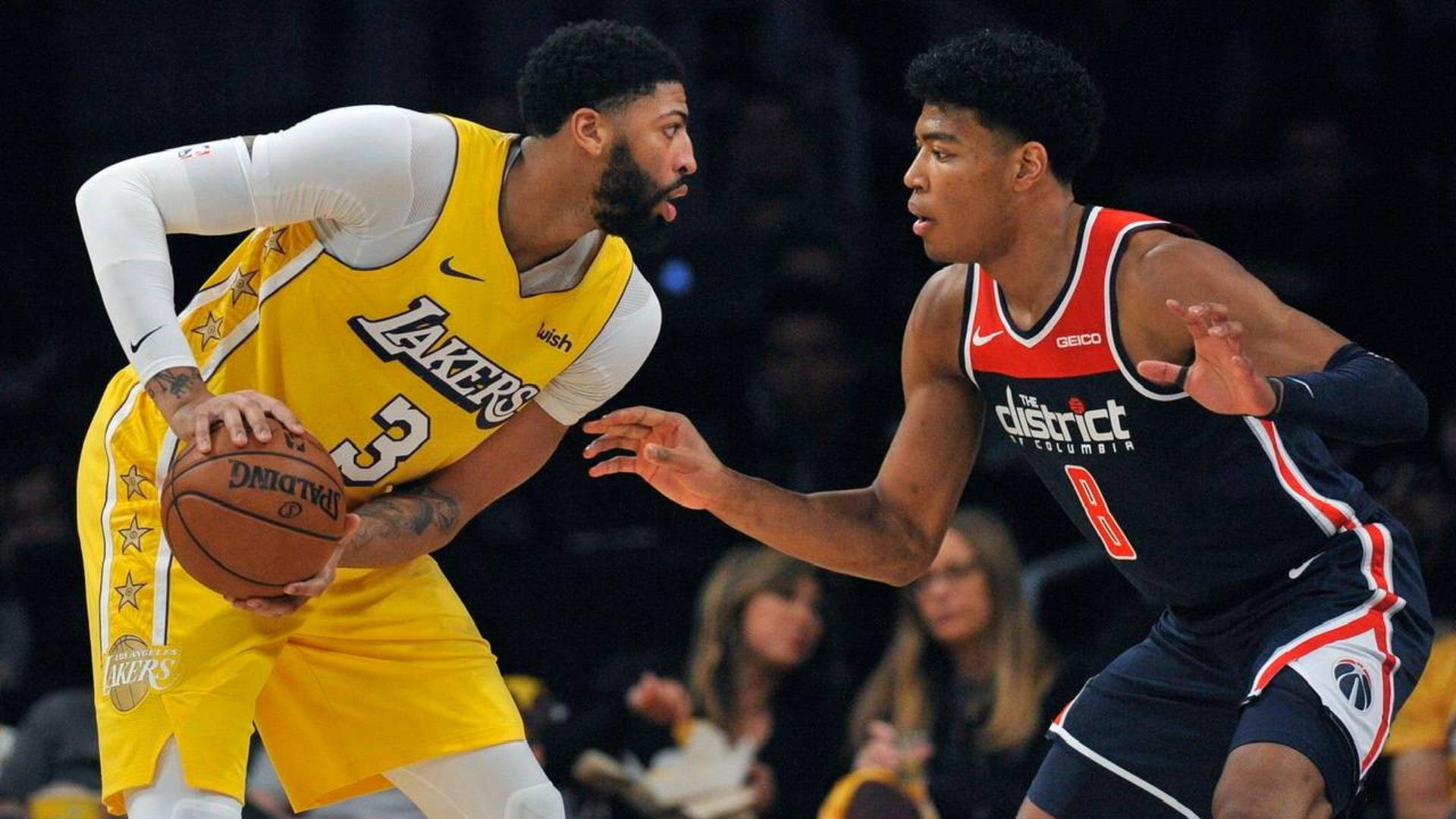 2019-2020 NBA常规赛 洛杉矶湖人 VS 华盛顿奇才 集锦Part1