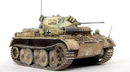 不输风雨的德国二号山猫坦克