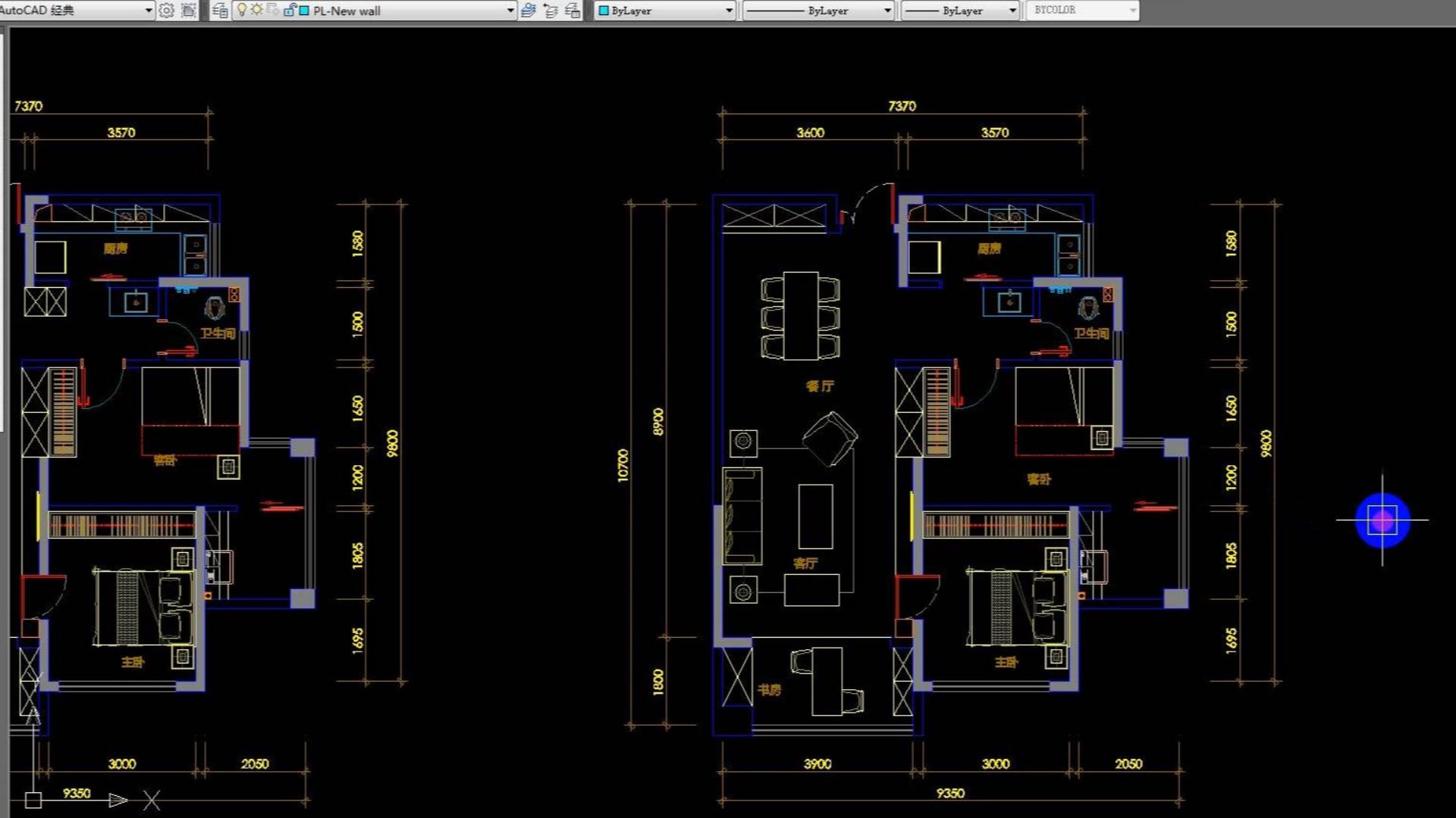 室内设计方案优化小房子大空间施工图画法你不知道的秘密~Part1