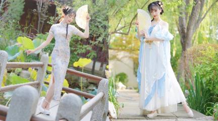 【紫顏】 旗袍 & 仙女 你要選那個?