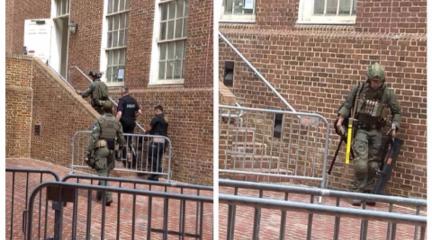 美警察闖委內瑞拉使館抓4人