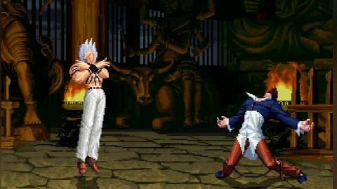拳皇mugen:生存之战,大蛇只闯过2关就被神级对手终结了Part1