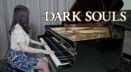 【Ru s Piano】黑暗之魂 Dark Souls - 乌薪王葛温OST -钢琴演奏