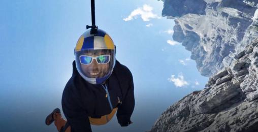 亚洲第一飞人:6年专职跳悬崖,中国人的世界奇迹