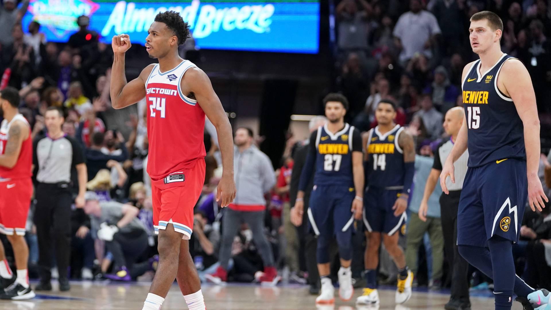 2019-2020 NBA常规赛 萨克拉门托国王 VS 丹佛掘金 集锦Part1