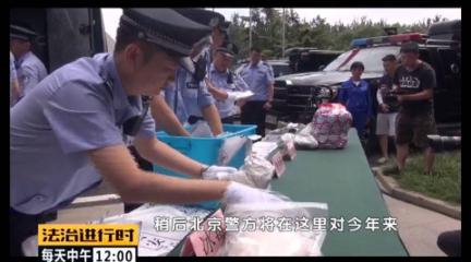 跟蹤報道:公開銷毀1.6噸毒品