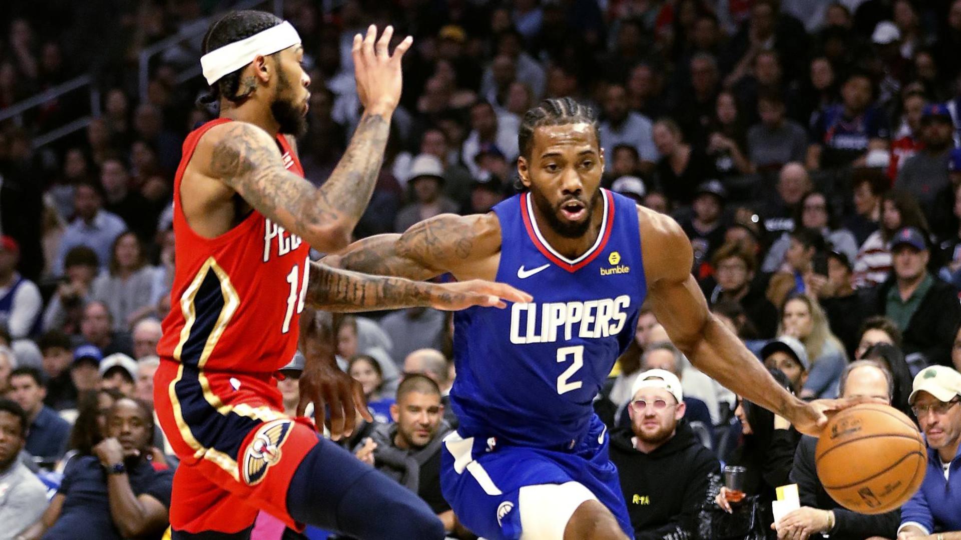 2019-2020 NBA常规赛 洛杉矶快船 VS 新奥尔良鹈鹕 集锦Part1