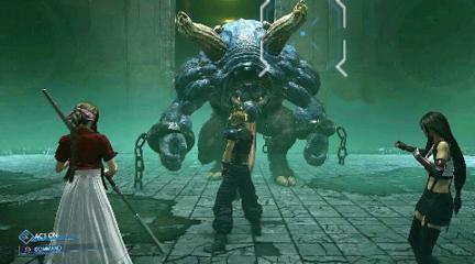 最终幻想7重制版 全新boss演示