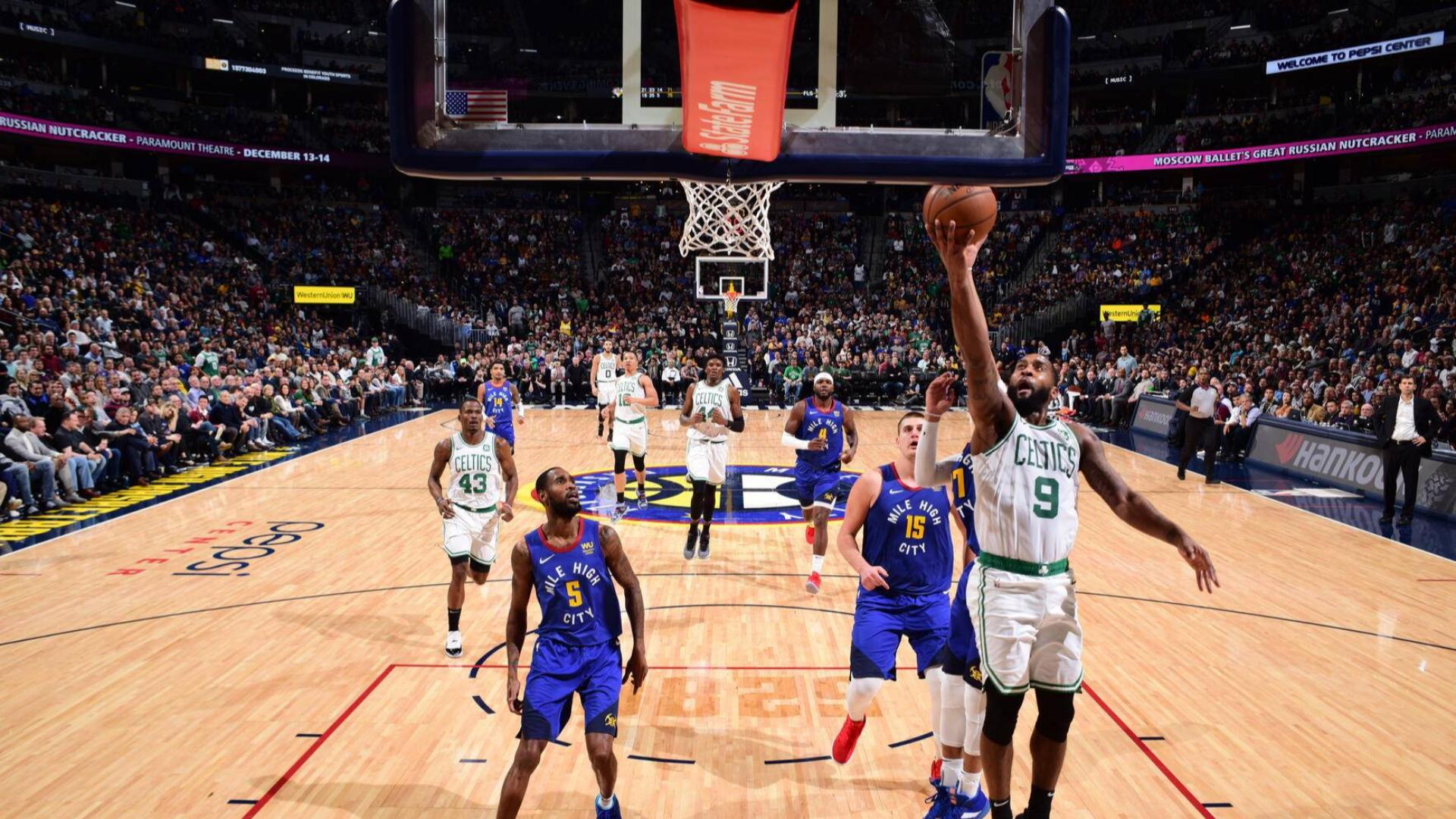 2019-2020 NBA常规赛 丹佛掘金 VS 波士顿凯尔特人 集锦Part1