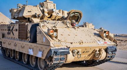 美軍大批步戰車急運敘利亞