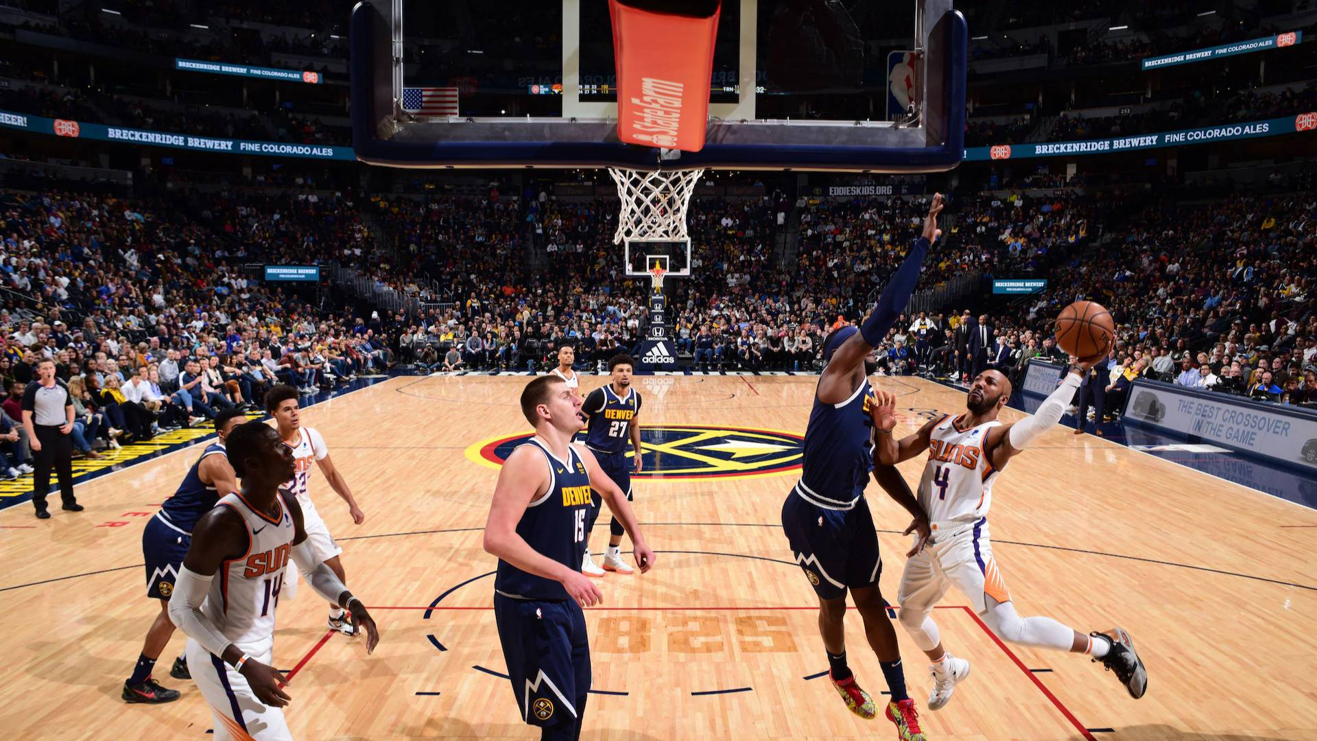2019-2020 NBA常规赛 丹佛掘金 VS 菲尼克斯太阳 集锦Part1