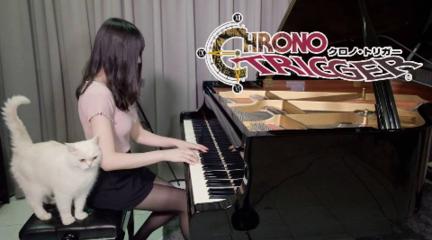 超時空之輪  鋼琴演奏