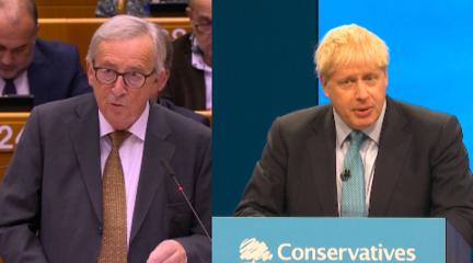 """歐盟與英國達成""""脫歐""""新協議"""