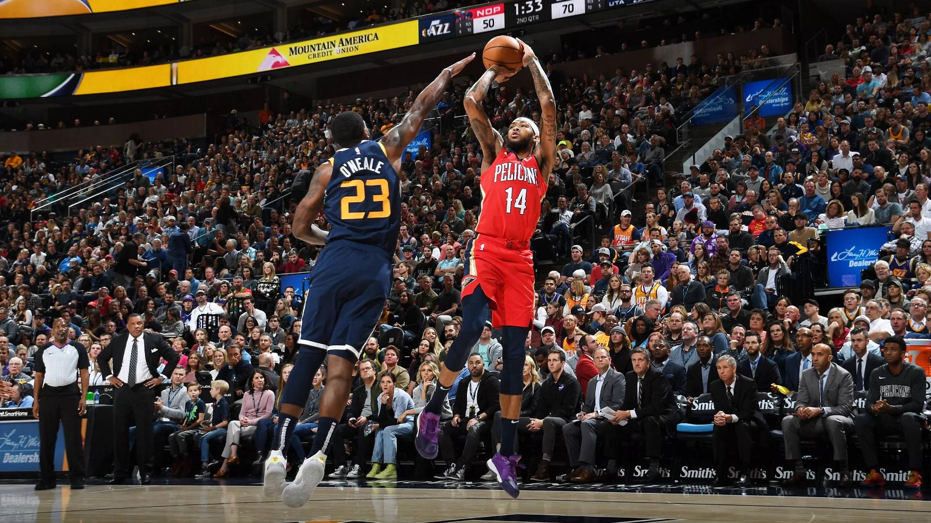 2019-2020 NBA常规赛 犹他爵士 VS 新奥尔良鹈鹕 集锦Part1