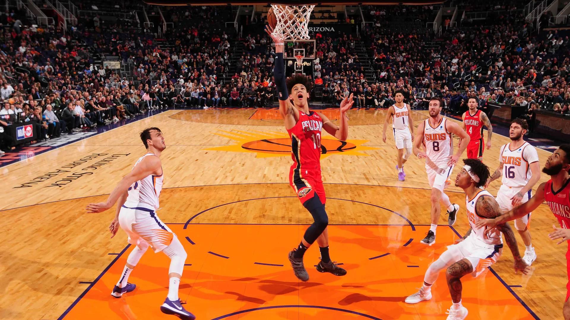 2019-2020 NBA常规赛 菲尼克斯太阳 VS 新奥尔良鹈鹕 集锦Part1