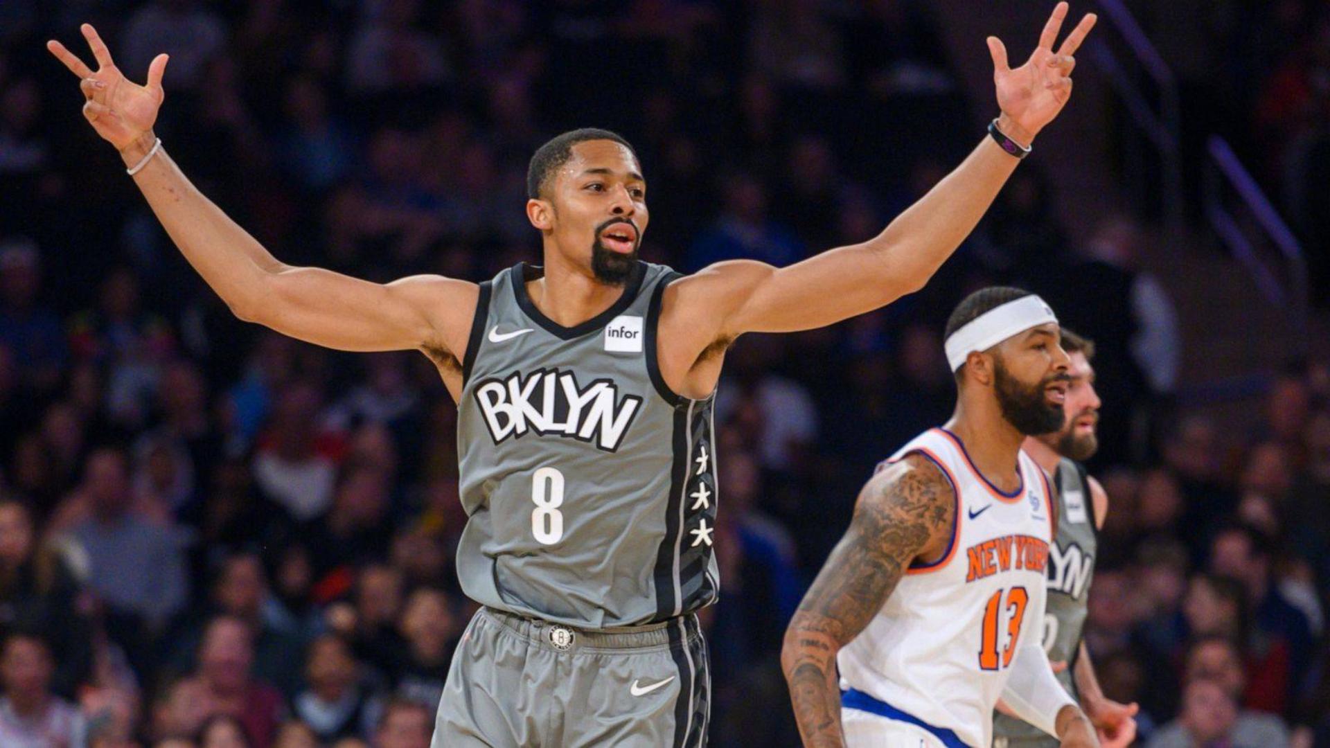2019-2020 NBA常规赛 纽约尼克斯 VS 布鲁克林篮网 集锦Part1