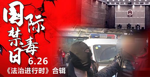 【法治进行时】6.26国际禁毒日合辑:禁毒!社会在行动!
