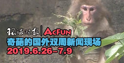 【环球时报|AcFun】奇葩的国外双周新闻现场 6.26-7.9