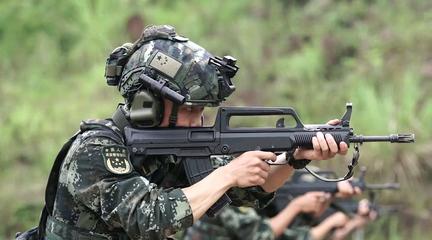 武警警官学院基地驻训掠影