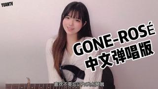 【付小远】Rose新歌《Gone》绝美中文填词改编版~电吉他弹唱