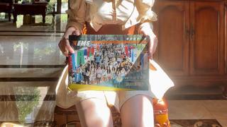 18岁生日收到录取通知书 北京语言大学新生成年啦!
