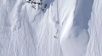 最疯狂的滑雪路线?你敢尝试么?