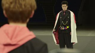 假面骑士01剧场版 假面骑士伊甸变身片段