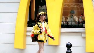【绮太郎】麦当劳拍摄路透???