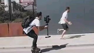极限运动里最强的应该是摄影师吧?
