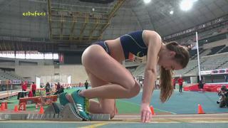 西班牙女子田径比赛各种大长腿美女精彩瞬间