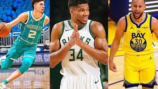 赛季回顾!NBA 20-21赛季最佳进球合集!
